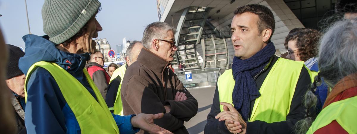 Elections européennes : Florian Philippot a fait déposer la marque «Les Gilets Jaunes»