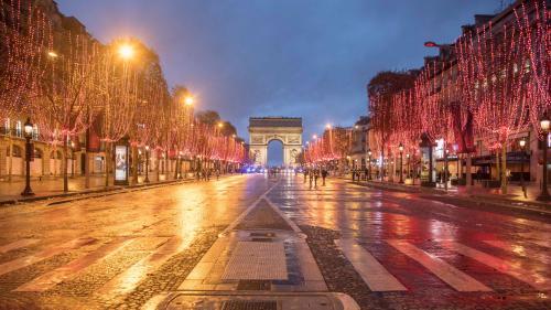 VIDEO. Paris : un réveillon sous haute surveillance