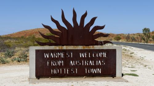 Australie : il a fait jusqu'à 49,3°C dans la ville la plus chaude du pays, qui étouffe sous la canicule