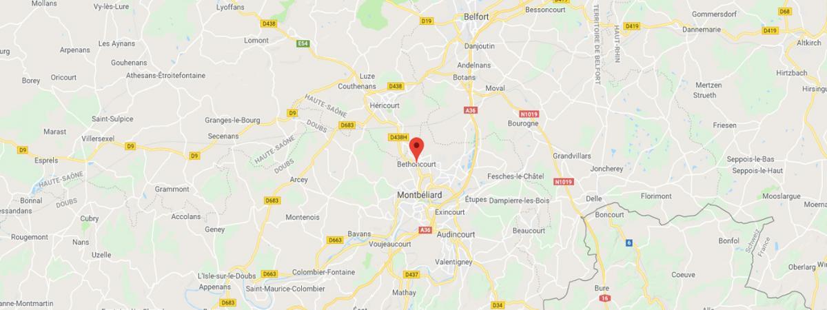 Une jeune femme enlevée dans le Doubs est retrouvée à 300 kilomètres, blessée aux jambes par arme à feu
