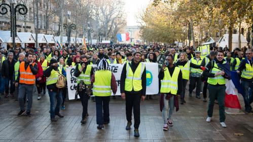 """DIRECT. """"Gilets jaunes"""" : des rassemblements prévus à Paris, Marseille, Lyon, Toulouse, Bordeaux pour l'""""acte 7"""""""
