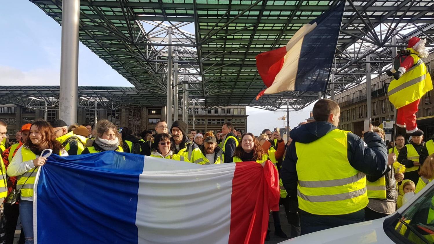 """foto de """"Acte 7 des gilets jaunes"""" : le point sur la mobilisation samedi région par région"""