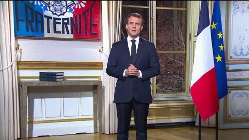 Vœux d'Emmanuel Macron:les réactions politiques