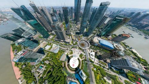 Cette photo de Shanghai à 195 milliards de pixels permet de voir le visage des passants dans la rue