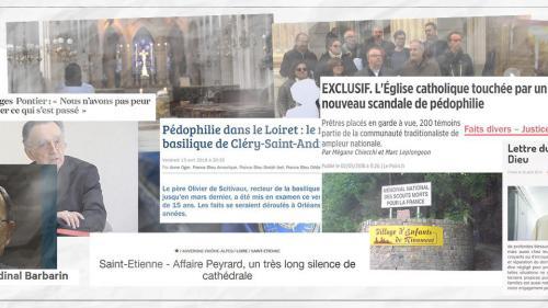 Pédophilie dans l'Eglise française : une année de déballages, d'avancées et de valses-hésitations