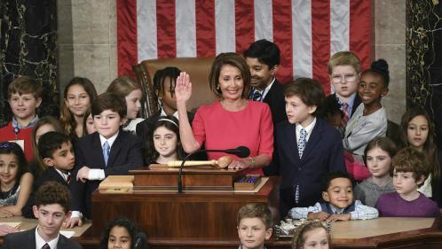 Etats-Unis : la démocrate Nancy Pelosi retrouve la présidence de la Chambre des représentants