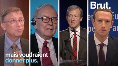 VIDEO. Bill Gates, Warren Buffet… Ces milliardaires philanthropes qui inspirent de plus en plus la France