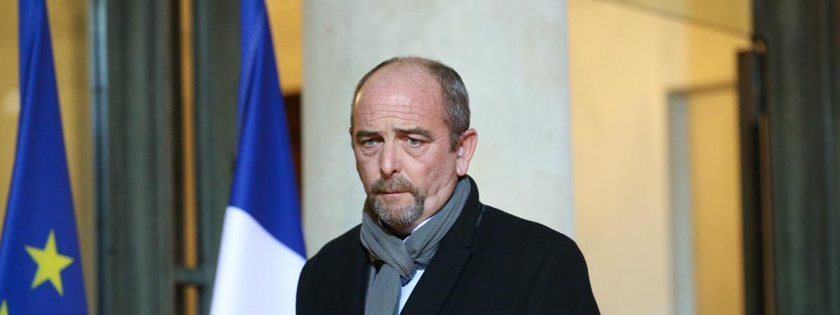 Yves Lefebvre est le secrétaire général du syndicat Unité-SGP Police FO.