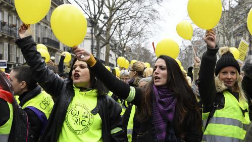 """DIRECT. """"Gilets Jaunes"""" : plusieurs centaines de femmes manifestent à Paris"""
