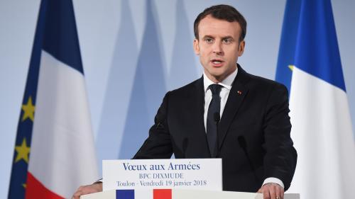 """""""Gilets jaunes"""" : pour se concentrer sur le grand débat national, Emmanuel Macron présentera ses vœux aux armées seulement"""