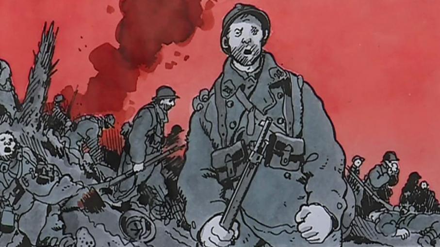 Rétrospective Tardi à Bâle : la guerre au coeur d'une oeuvre