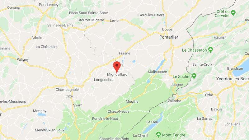 Disparition d'un Mirage 2000 : des débris retrouvés sur les hauteurs de Mignovillard dans le Jura