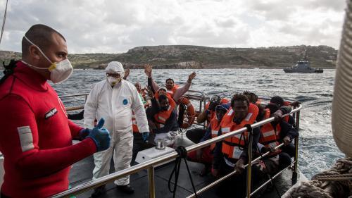 """Migrants en mer: """"Les politiques européennes de dissuasion tuent"""", accuse MSF"""