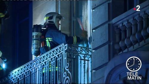 Toulouse : un violent incendie s'est déclaré dans le centre-ville