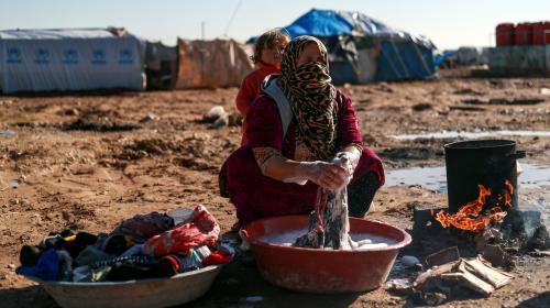 Quelque 25 000 personnes ont fui les combats dans l'est de la Syrie, selon l'ONU