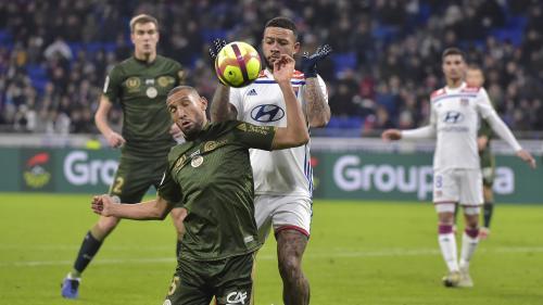 Ligue 1 : accroché par Reims, Lyon laisse Lille prendre de l'avance