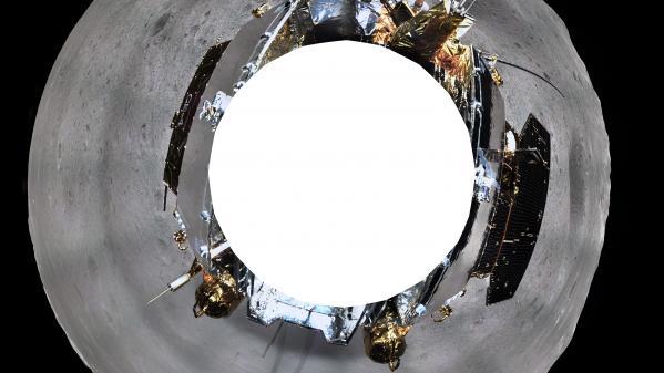La Chine publie une photo à 360 degrés de la face cachée de la Lune