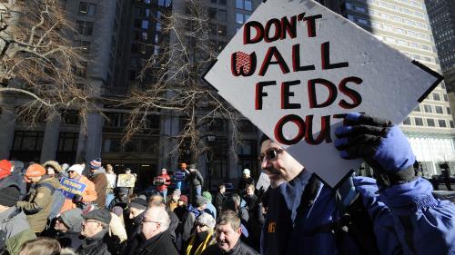 """Budget américain : le """"shutdown"""" est devenu le plus long de l'histoire du pays"""