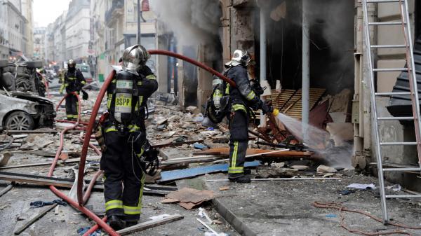 Paris : forte explosion à Paris après une fuite de gaz