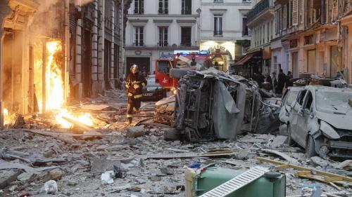 """RECIT. """"Ca m'a pratiquement explosé en pleine figure"""" : à Paris, comment une fuite de gaz a transformé la rue de Trévise en """"zonedeguerre"""""""