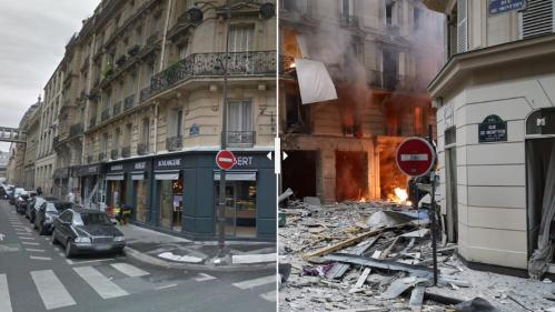 EN IMAGES. Explosion d'un immeuble à Paris : la photo qui montre l'ampleur du sinistre