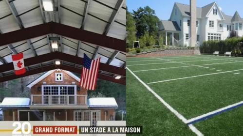 VIDEO. Arceau de basket, mur d'escalade, skatepark... Les terrains de sport à domicile se multiplient aux Etats-Unis