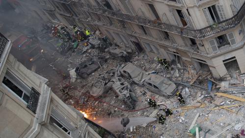 Explosion d'un immeuble à Paris : le corps d'une femme retrouvé sous les décombres, le bilan est désormais de quatre morts