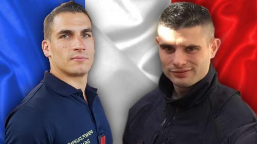 Explosion d'un immeuble à Paris : hommage national rendu aux deux pompiers morts