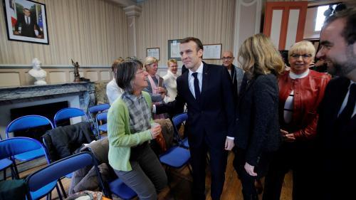"""DIRECT. Grand débat national : pour Macron, la crise des """"gilets jaunes"""" est """"une chance"""" pour """"réagir plus profondément"""""""
