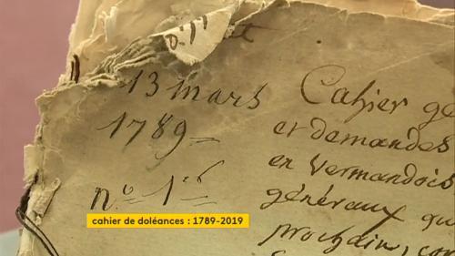 nouvel ordre mondial | 1789-2019, les cahiers de doléances 230 ans après