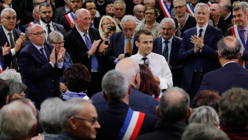 REPLAY. Grand débat national : regardez l'intégralité de l'échange-marathon entre Emmanuel Macron et les maires normands