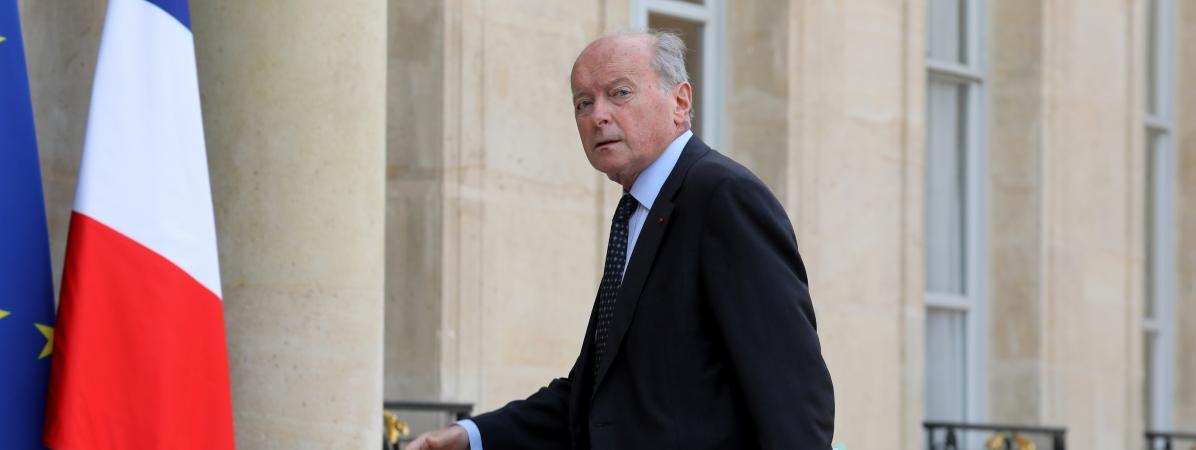 LeDéfenseur des droits Jacques Toubon, le 17 octobre 2017, à l\'Elysée.