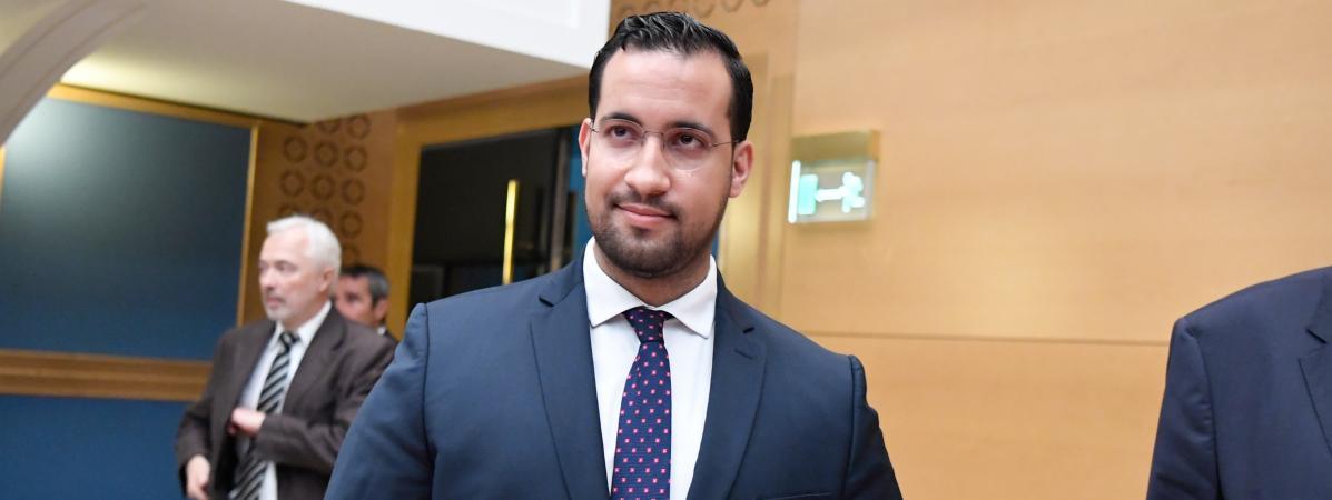 Alexandre Benalla, le 19 septembre 2018 au Sénat.