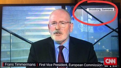 Pour la chaîne américaine CNN, Strasbourg se trouve en Allemagne