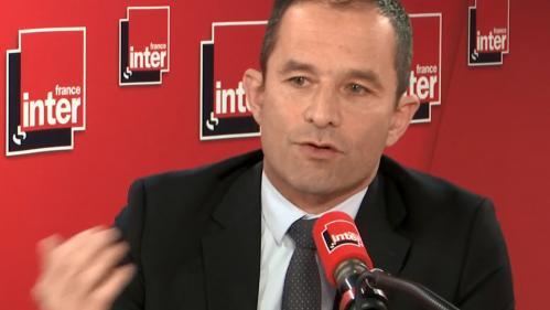 VIDEO. 6e République, rôle du chef de l'Etat, modèle de développement: Benoît Hamon adresse ce jeudi une lettre à Emmanuel Macron
