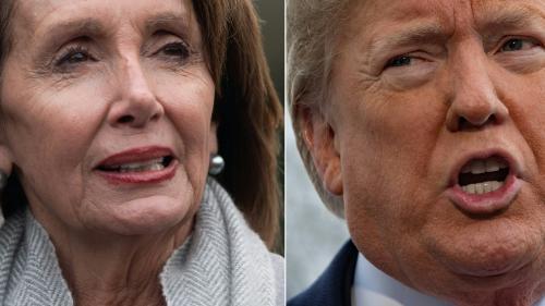 """Etats-Unis : en représailles du """"shutdown"""", Donald Trump annule les déplacements de sa rivale démocrate Nancy Pelosi"""