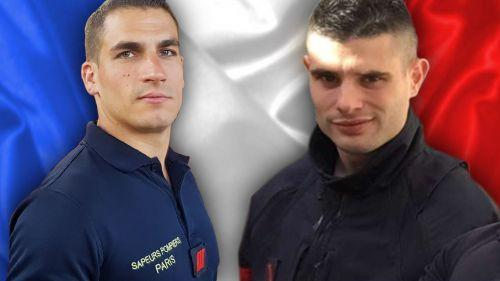 Un hommage national rendu aux deux pompiers morts dans l'explosion de gaz rue de Trévise à Paris
