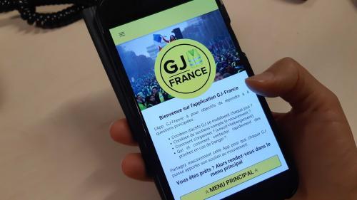 """Covoiturage, hébergement, comptage… Les """"gilets jaunes"""" ont désormais leur application"""