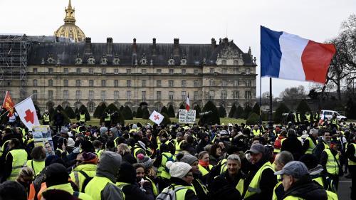 """DIRECT. """"Gilets jaunes"""" : 27 000 manifestants recensés à 14 heures en France par le ministère de l'Intérieur"""