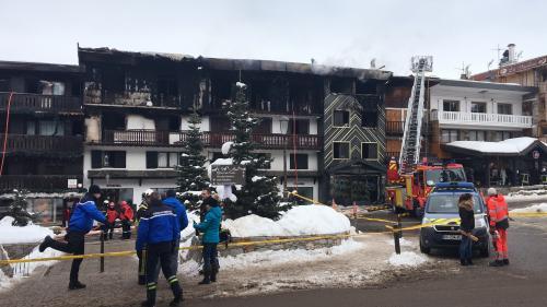 Courchevel : ce que l'on sait de l'incendie qui a fait au moins deux morts