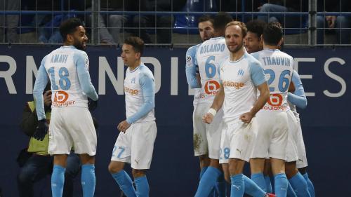 Ligue 1 : Marseille s'impose à Caen 1-0 et stoppe sa série noire