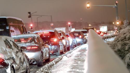 Neige : les flocons ont surpris les habitants des Hauts-de-France