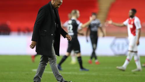 Foot : Thierry Henry suspendu de ses fonctions d'entraîneur de l'AS Monaco, trois mois et demi seulement après son arrivée au club