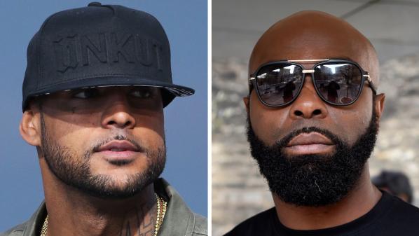 """Clash entre Booba et Kaaris : Cyril Hanouna tente de les réconcilier sur le plateau de """"Touche pas à mon poste"""", les deux rappeurs s'insultent"""