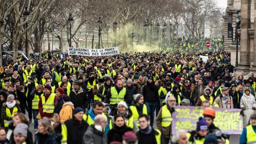 """Comptage des manifestants, caméras sur les policiers… Les nouveautés de la 11e journée de mobilisation des """"gilets jaunes"""""""
