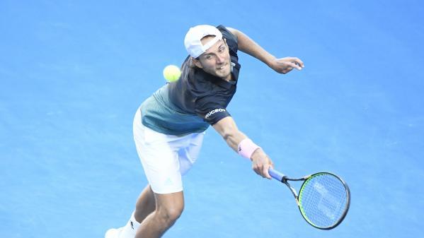 DIRECT. Tennis : ça commence mal pour Lucas Pouille, qui affronte Novak Djokovic en demi-finale de l'Open d'Australie