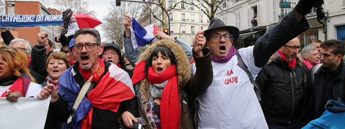 52bcb786b0c3a A la Marche républicaine des libertés, l impossible dialogue entre ...