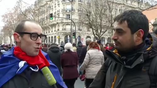 """Un faux """"foulard rouge"""" se fait passer pour un organisateur auprès de la chaîne RT"""