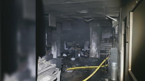 Grenoble : les locaux de France Bleu Isère incendiés