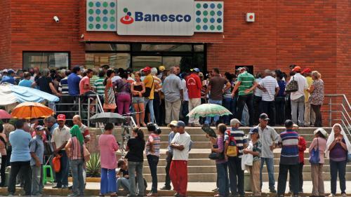 """VIDEO. """"Il n'y a rien qui va ici"""" : au Venezuela, le ras-le-bol des habitants, fatigués de la crise politique et économique"""